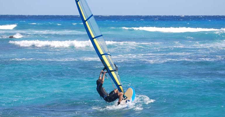 Windsurfing in Negombo
